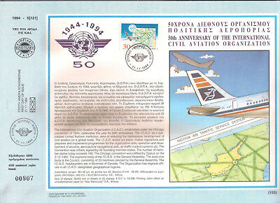 1994  Civil Aviation Icao Cyprus Airways Airplane Airport Air Traffic F.d. Card