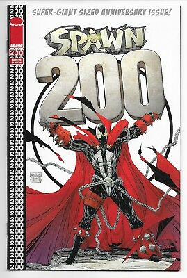 Spawn 200 ALL 6 COVERS NM McFarlane Lee Liefeld Silvestri Finch Wood Image Todd