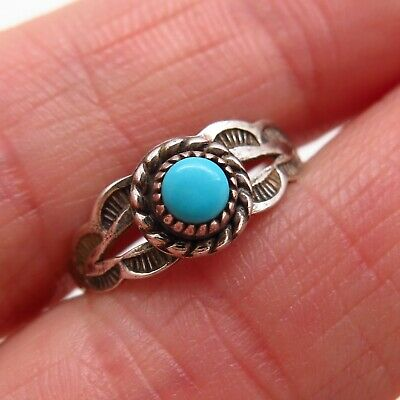 Ethnic, Regional & Tribal Old Pawn Bell Trading Post 925 Silver Abalone Shell Wide Floral Ring Size 7