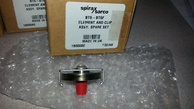 "Spirax Sarco 1800080 Element, fits BT6, BT6F, BTM7, AVM7, 1/2"", 3/4"", or 1"""