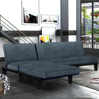 X-Large Luxury Modern 3/4 Seater Recliner Fabric Sofabed Sofa Bed Settee New uk