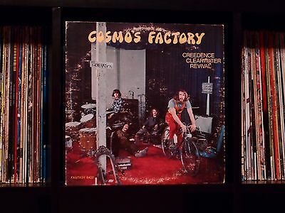 Creedence Clearwater Revival ♫ Cosmo's Factory ♫ 1970 Fantasy Original Press LP