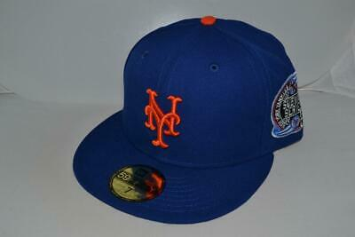 11d4c200 NEW ERA NEW YORK METS SUBWAY SERIES 2000 FITTED Hat Cap 59FIFTY MLB  AUTHENTIC