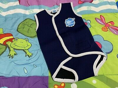 Boys Medium 6-18 Months UPF 50+ SPLASH ABOUT Lovely Wetsuit Wrap
