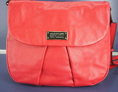08ab4758bca1 Marc Jacobs by Leather MARChive Crossbody Front Flap Bag  398 New Shoulder  Purse