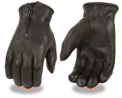 HUGGER Police Style Gloves Driving Motorcycle Men/'s Kevlar Lined Search Duty