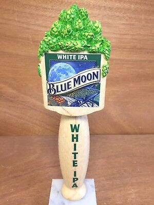 """Blue Moon White IPA Beer 10"""" Tall Tap Handle ~ NEW In Box & Free Shipping"""
