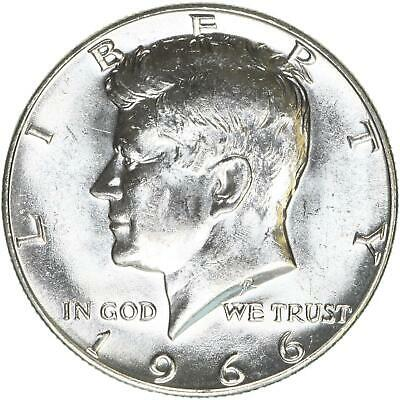 1966 Kennedy Half Dollar 40% Silver BU US Coin