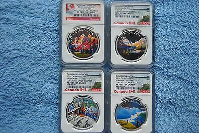 2016, Canada, $20, Canadian Landscapes Set, NGC, PF70 UC, Early/First Release