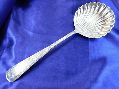 S. Kirk & Son Old Maryland Engraved Sterling Silver Casserole Spoon - Excellent