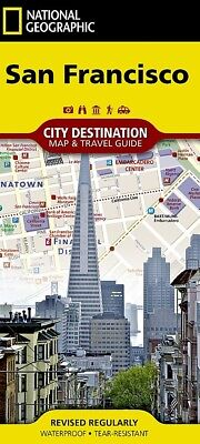 National Geographic San Francisco, CA City Map & Travel Guide - 2018