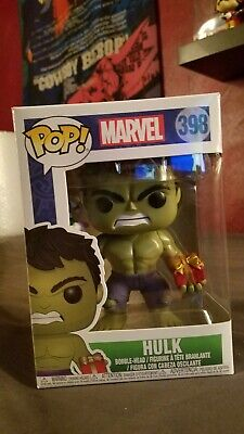 Other Action Figures Loyal Funko Pop Vinyl Marvel Hulk With Stocking 398 Action Figures