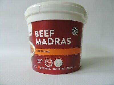 Curry Flavours Beef Madras spice mix 1kg
