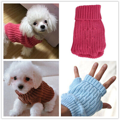 Dog Sweater Size XXXXS XXXS XXS Pet Puppy Clothes Clothing for Teacup Micro Cat