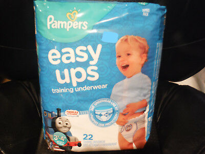 NEW PAMPERS Easy Ups 3T - 4T Thomas & Friends 22 Training Underwear