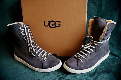 c145e8a4c19 UGG STARLYN SNEAKERS HIGH, US 8 WOMENS , Color: CHARCOAL, 1096941 ...