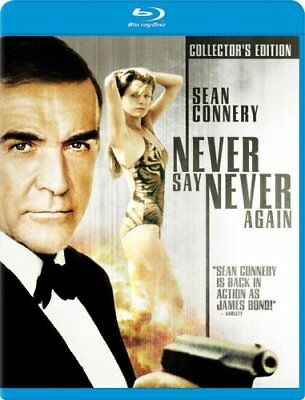 Never Say Never Again Blu-Ray Collectors edition rare OOP
