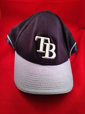 7c7165ff0 NEW ERA MESH MLB Tampa Bay Rays Sz 7 1/4 5950 Batting Practice ...
