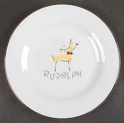 Pottery Barn REINDEER Dinner Plate 4641876
