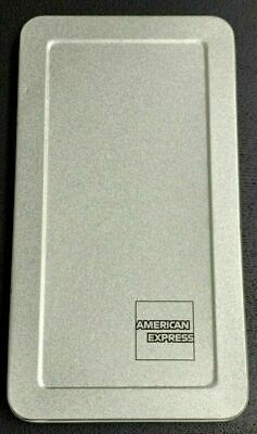 "NEW American Express""AMEX"" Stainless Like Private Hinged Check tray Presenter"