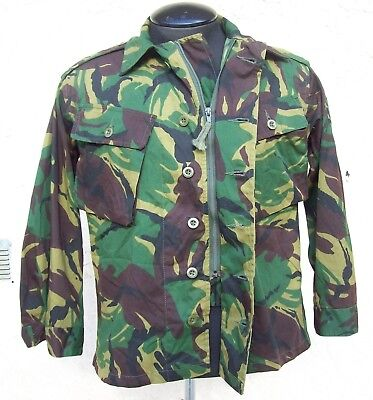 d5955d3842058 British Army Combat Jacket, Tropical, DPM Camo Size: Small / Short