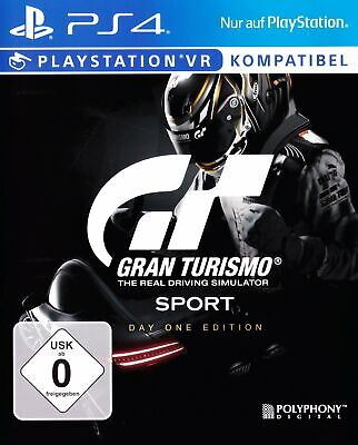 PS4 jeu - Gran Turismo Sport #Day One Edition AL/ANG NEUFS & AVEC L'EMBALLAGE