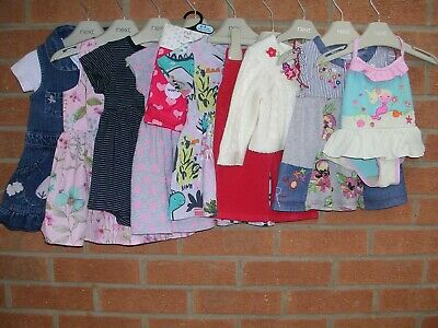 Mainly NEXT Girls Bundle Outfits Tops Trousers Cardigan Dress Dresses Age 6-9m