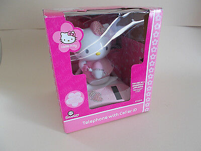 TELEFONO FISSO HELLO KITTY SANRIO- HOME PHONE hallo kitty Sanrio boxed