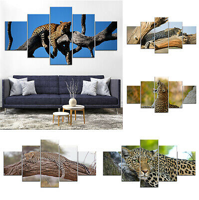 Leopard Wild Animal Canvas Print Painting Framed Home Decor Wall Art ii Poster