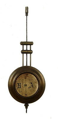 Vintage Pendulum of A Wall clock in Medium size  R = A Brass Collectible Nr 6998