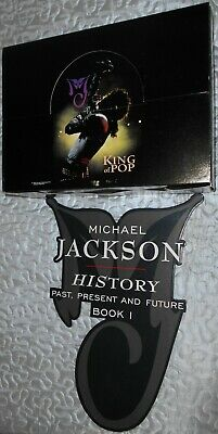 Michael Jackson History - Plv + Box  1995 Triumph International - Rare Collector