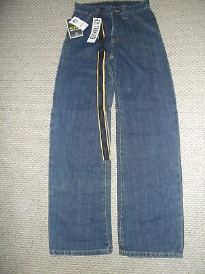 Boys LEE BLUE DENIM JEANS NEW WITH TAGS SIZE AGE 11 - HEIGHT 146