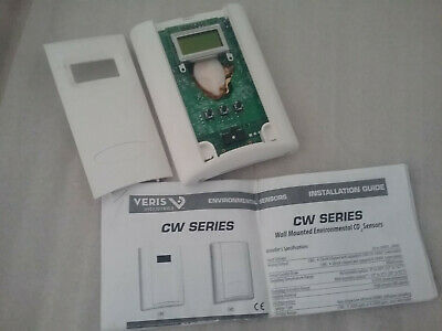 Veris Cw Series Wall Mounted Environmental Co2 Sensor Z204277-00