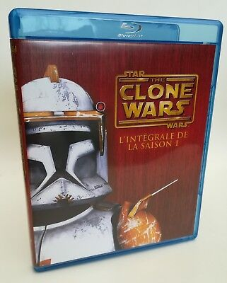 Star Wars - The Clone Wars, L'intégrale de la Saison 1 (Blu-ray)
