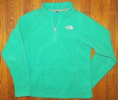 f889fe09e THE NORTH FACE Girls Zip Front Jacket with Hood Gray Size M 10/12 ...