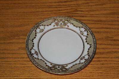 Antique Gold Decorated Noritake Hand-Painted Plate, c.1920 (7 available)