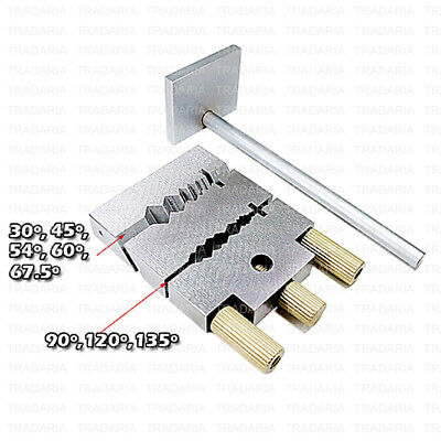 Hinge Cutting Tool Jig Vise Miter Tube Bar Cutter Chenier Cutter Length Stopper