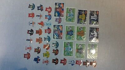 gros lot 42 Magnets football Just Foot / Pitch  neufs ou pas /annees 2010 et +