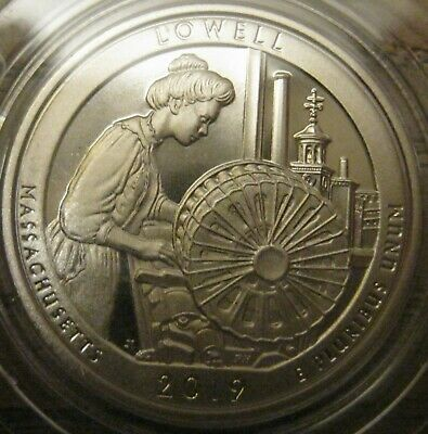 2019-S Clad Proof Lowell National Historical Park Quarter IN Stock Ready To Ship