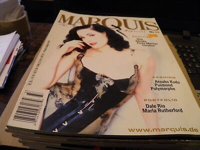 MARQUIS MAGAZINE No.33- Fashion Latex Rubber PVC