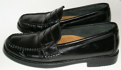 d15480c10da Women s BASS WEEJUNS Penny Loafers Shoes~Katherine II~Black leather~Size 8M
