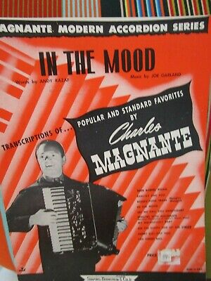ACCORDION SHEET MUSIC by Charles Magnante - $4 99 | PicClick