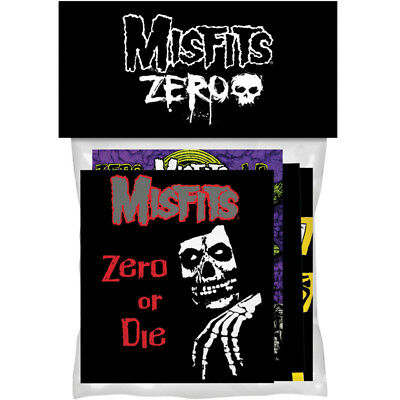 Zero skateboards MISFITS Sticker pack (4 in pack) FREE J&J'S STICKER