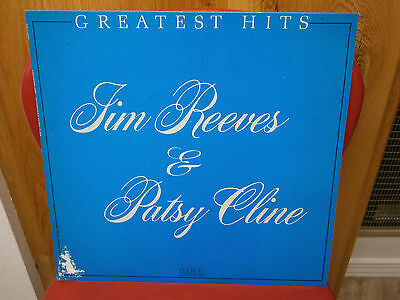 Vinyl Record Album LP - Jim Reeves & Patsy Cline - Greatest Hits