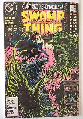Comics US SWAMP THING # 53 october 1986 FINE condition backboarded wrap Batman