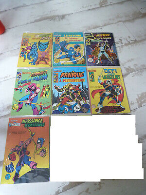 lot de 9 bds Avengers Artima Color Superstar n° 6 à 13