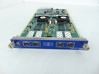 Finisar XGIG-4FG4G1 4 Gigabit Multi-Function Blade WITH LICENSE + 8x FEATURES