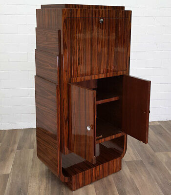 Masterpiece of ART DECO 1926 - BAR SCHRANK MÖBEL COCKTAIL CABINET