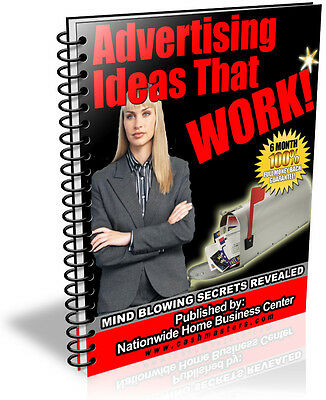 Advertising Ideas That Work Pdf Ebook Free Shipping Resale Rights