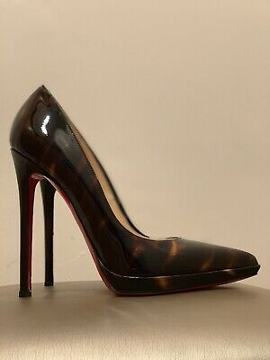 another chance 44b8b 5df44 CHRISTIAN LOUBOUTIN PIGALLE Follies Blue Suede Pointy Toe ...